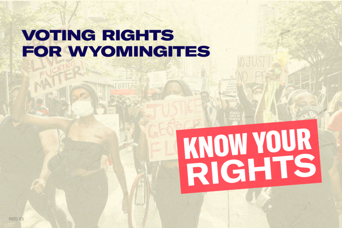 Know Your Rights, Voting Rights Series