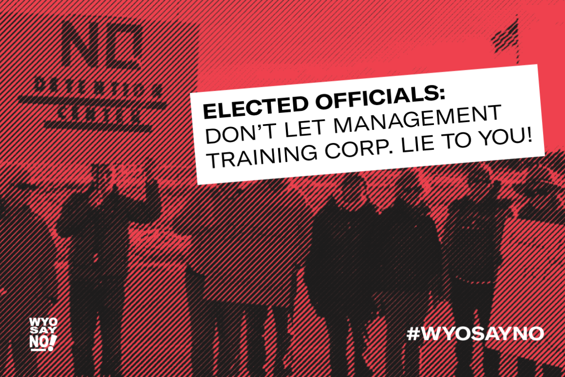 WyoSayNo Elected officials