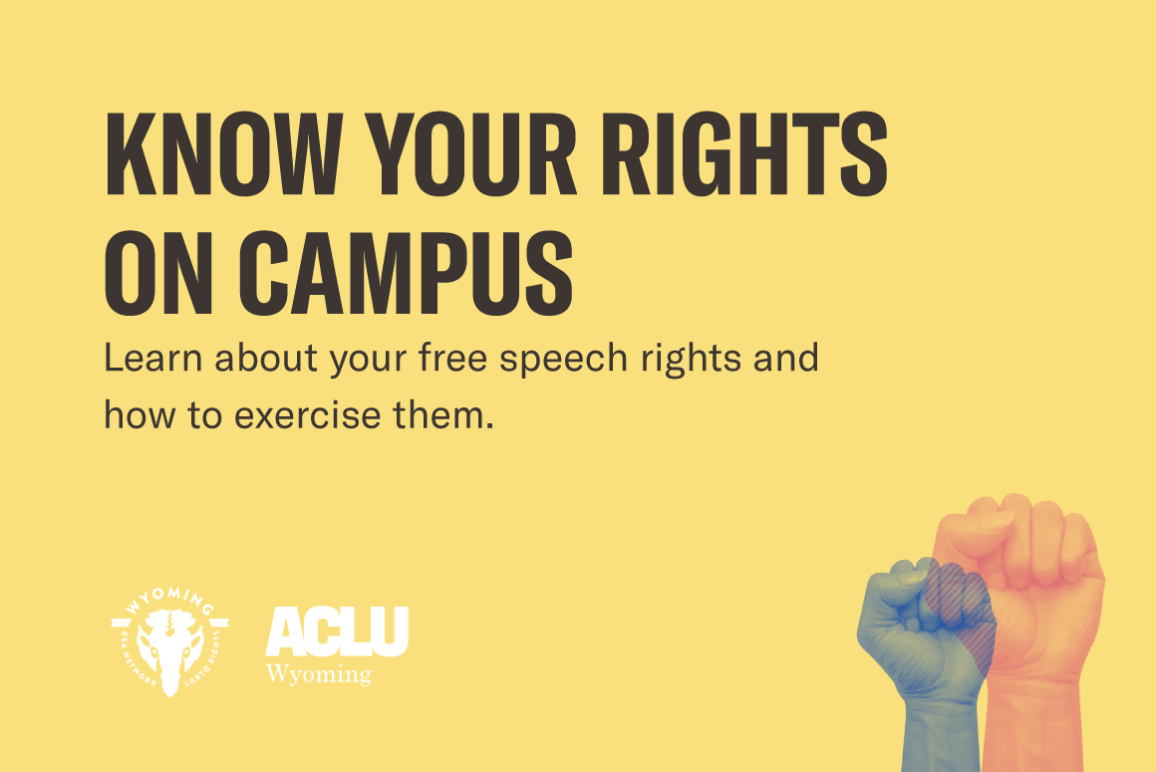 Know Your Rights Event for Students