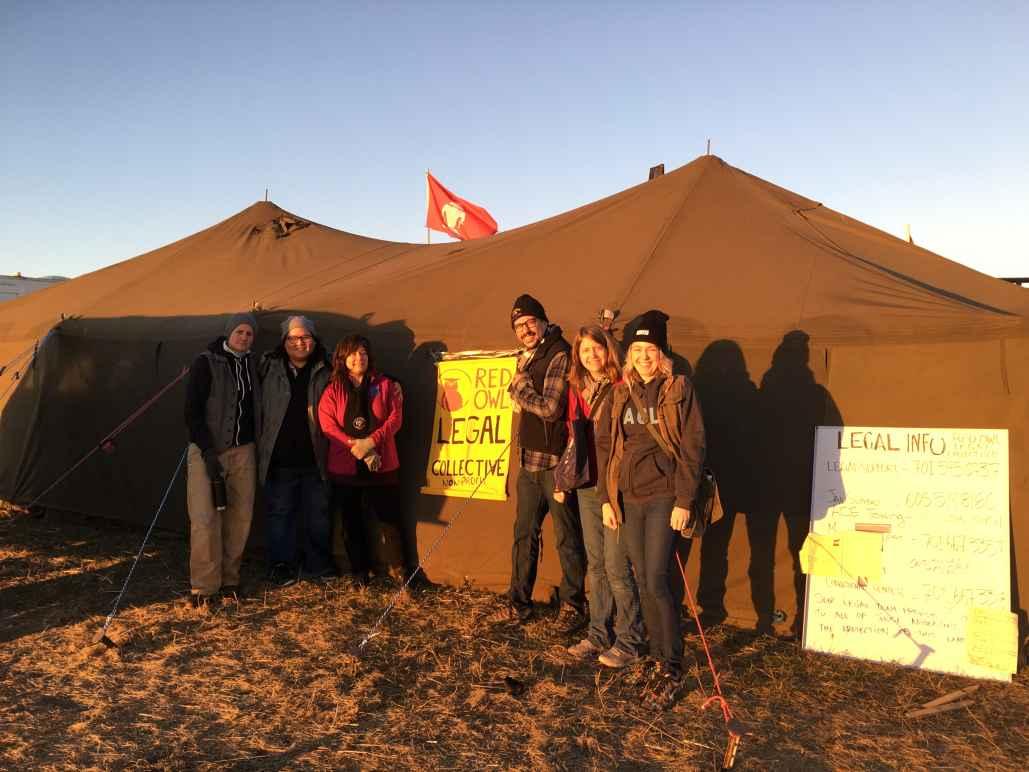 ACLU in Standing Rock