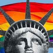 Lady Liberty Pride Logo