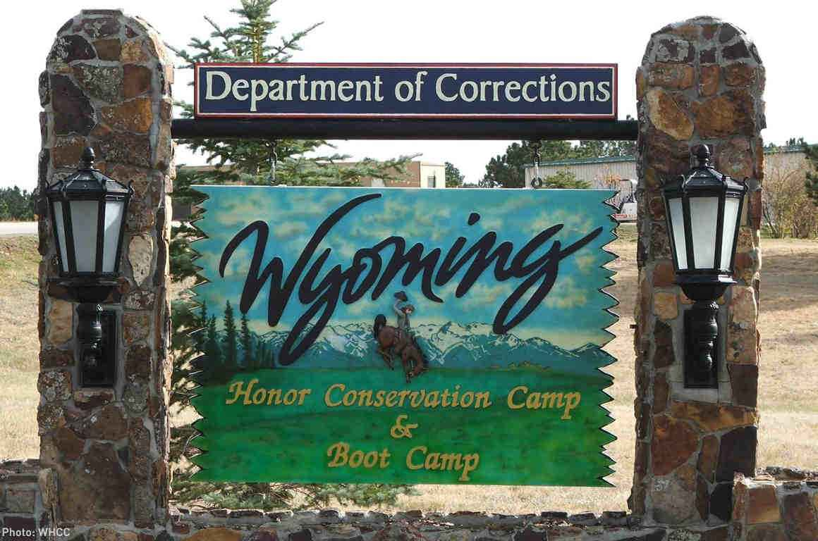 Wyoming Department of Corrections Sign