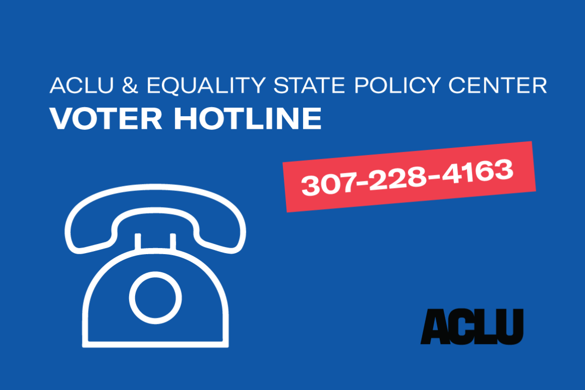voter hotline WY